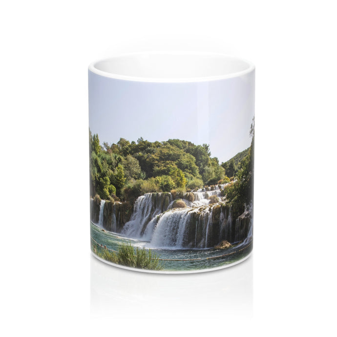 buy Waterfall Design Coffee & Tea Mug 11oz|0.33l at www.365mugs.com
