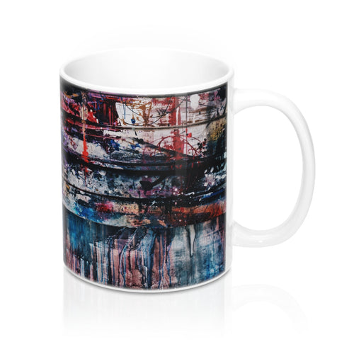 buy Paint on Wood Design Coffee & Tea Mug 11oz|0.33l at www.365mugs.com
