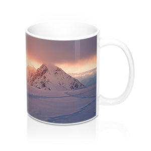 buy Snow Mountain Sunset Design Coffee & Tea Mug 11oz|0.33l at www.365mugs.com