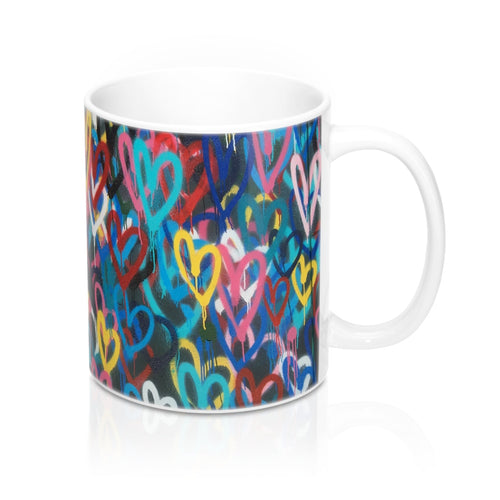 buy Graphic Love Design Coffee & Tea Mug 11oz|0.33l at www.365mugs.com