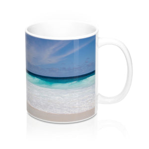 buy Paradise Beach Design Coffee & Tea Mug 11oz|0.33l at www.365mugs.com