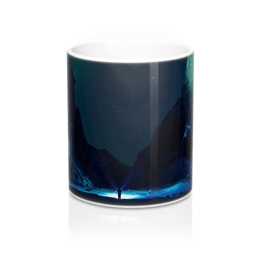 buy Night Snow Light Design Coffee & Tea Mug 11oz|0.33l at www.365mugs.com
