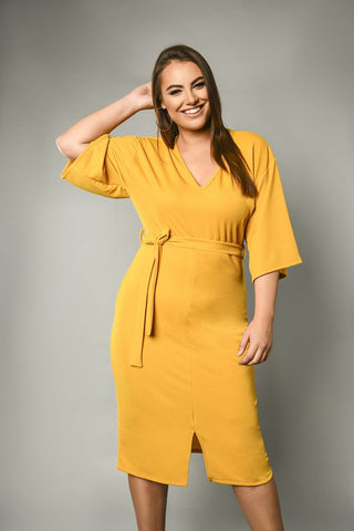 midi-plus-size-knee-length-dress