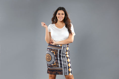 prints-fashion-plus-size-print-pencil-skirt-dress