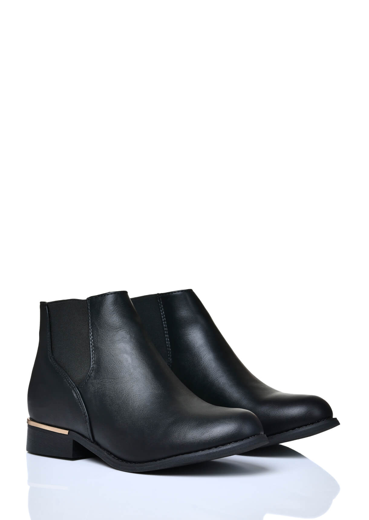 Wide Fit Black Chelsea Boots