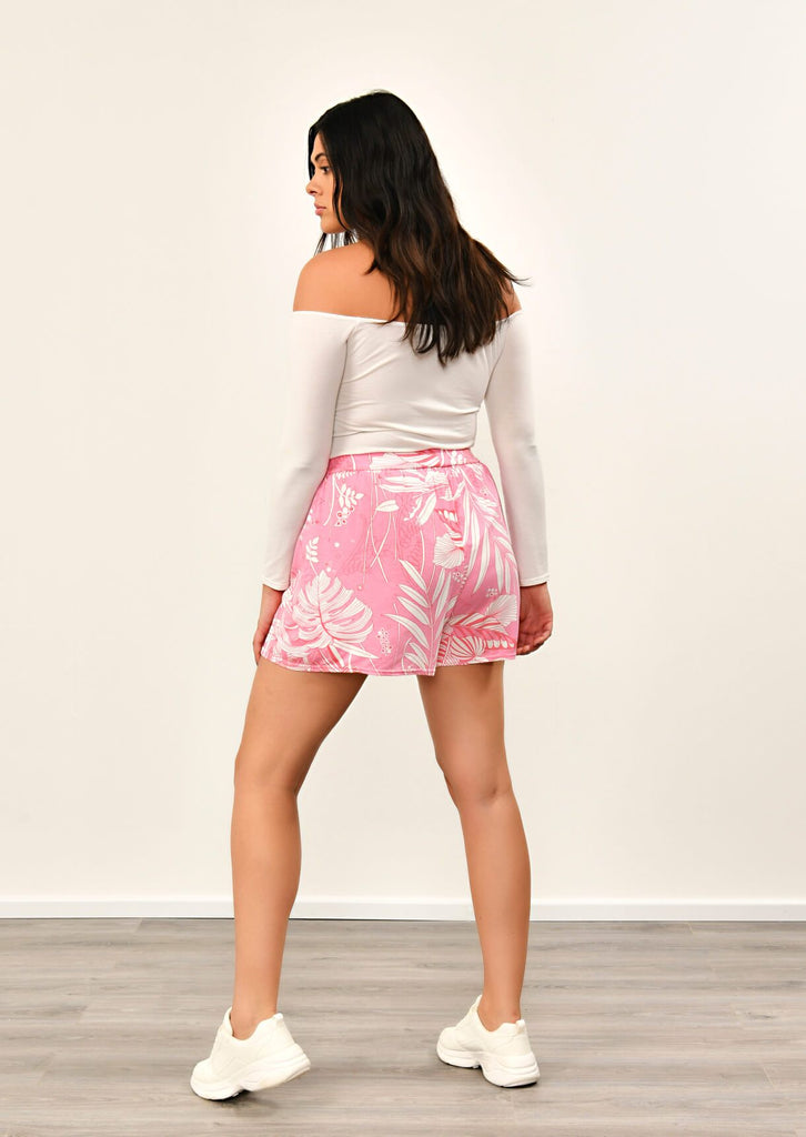 Pink Clove Pink Flippy Shorts view 5