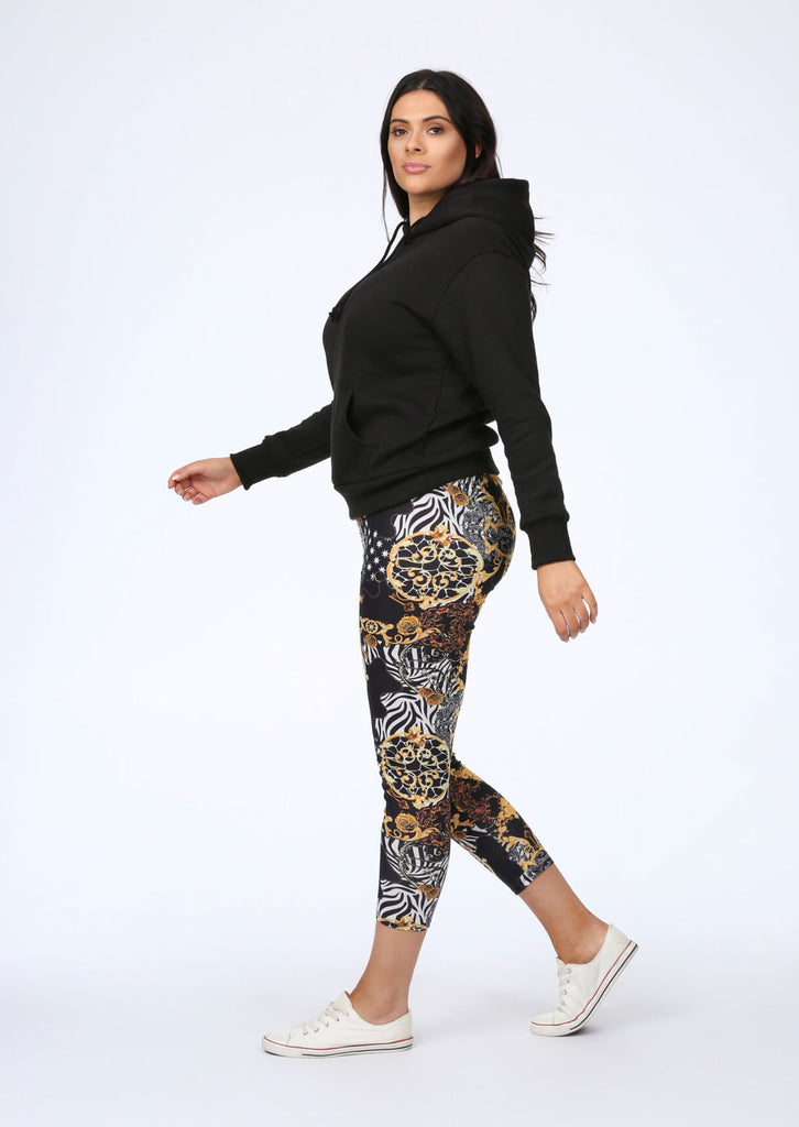 Lux Leggings in Multi Print view 5