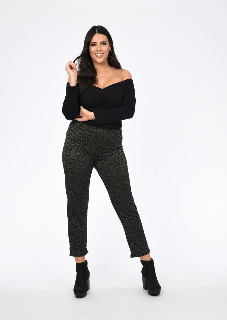 Plus Francie Off The Shoulder Twist Bodysuit in Black view 2