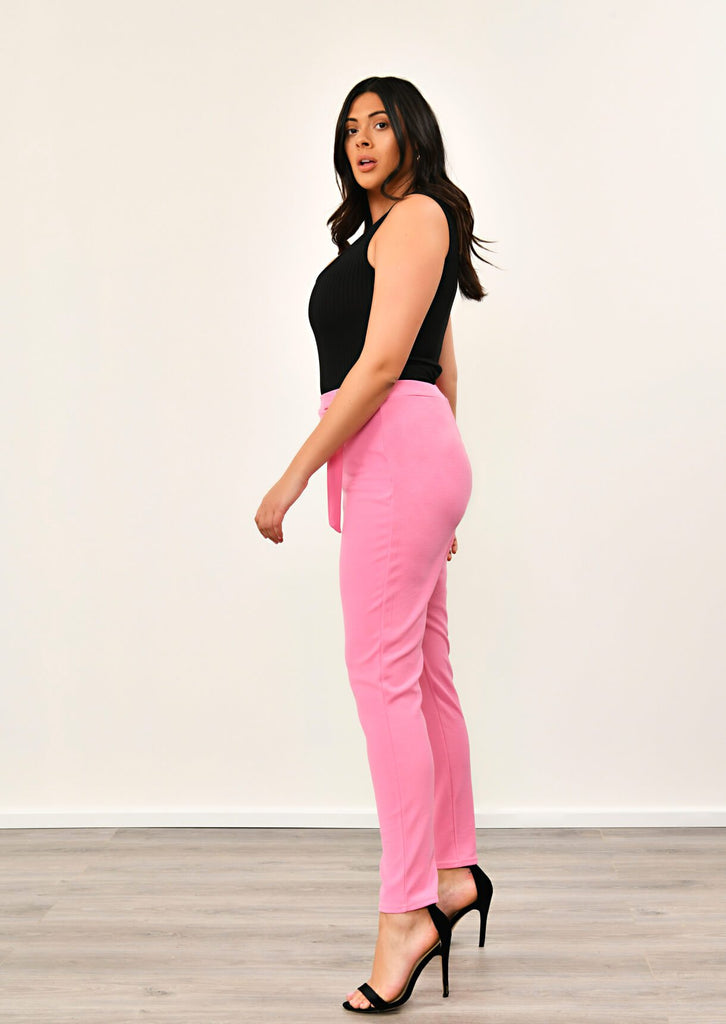 Coral Double Buckle Trousers 2 view 2
