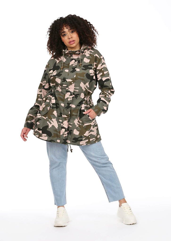 Green Camo Hooded Parka 4 view 4