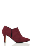 Wide Fit Heeled Ankle Boots