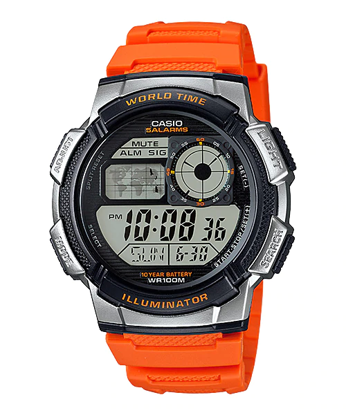 Casio AE1000W-4BV Analog-Digital Display Watch