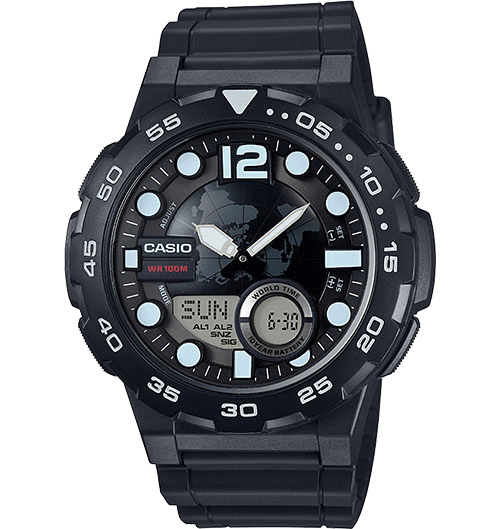 Casio AEQ100W-1AV Classic Watch