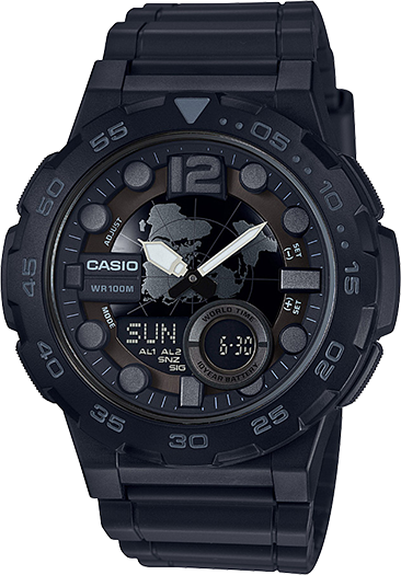 Casio AEQ100W-1BV Classic Watch