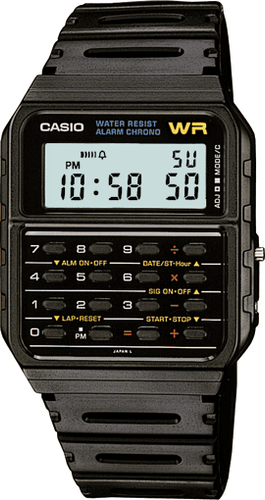 Casio CA53W-1 Data Bank Watch