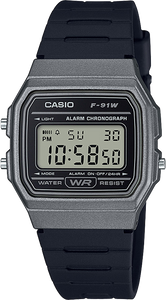Casio F91WM-1B Classic Watch