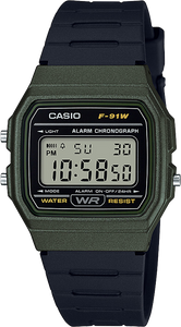 Casio F91WM-3A Classic Watch