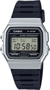 Casio F91WM-7A Data Bank Watch