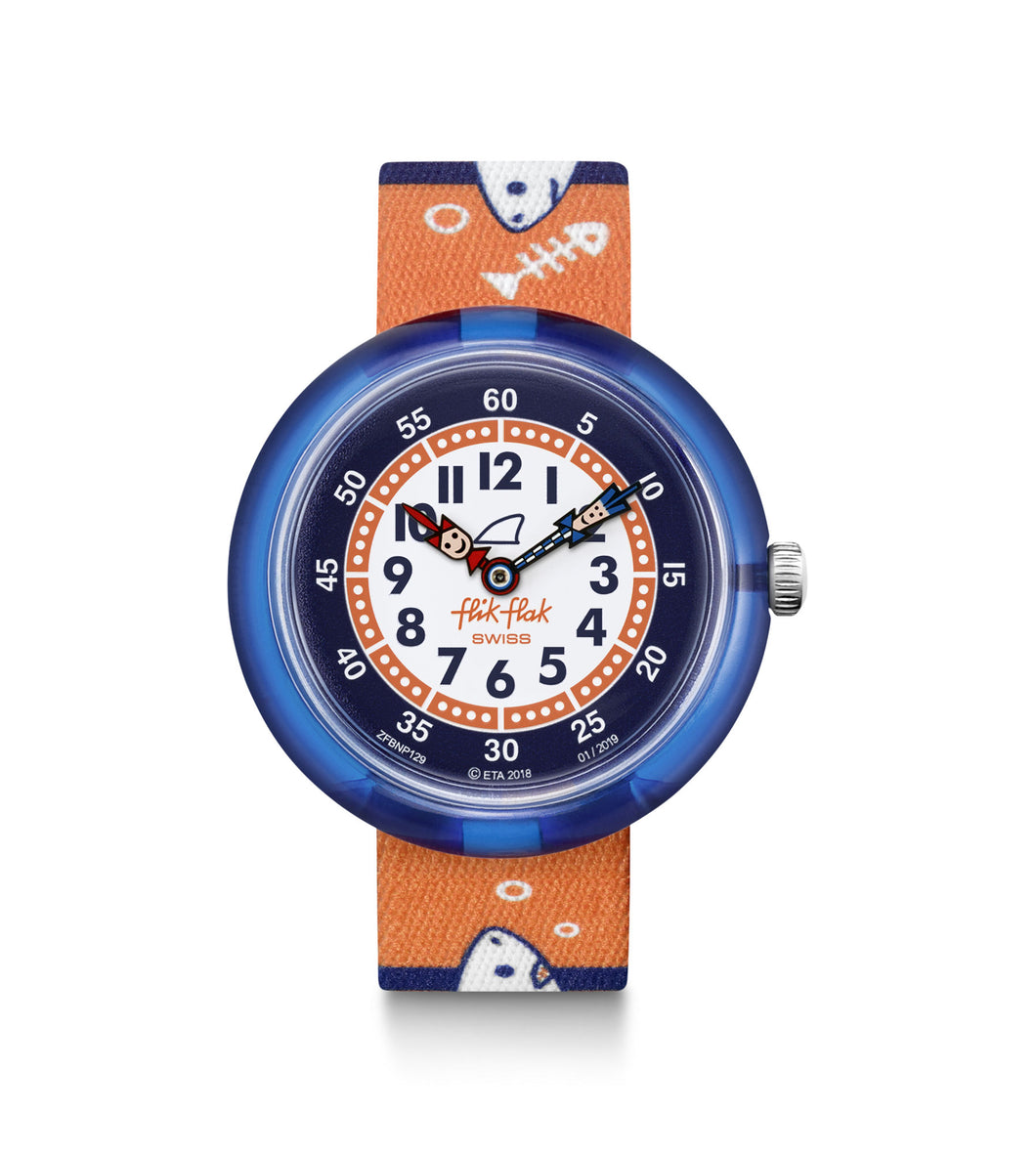 Swatch Flik Flak Hunted Water FBNP129