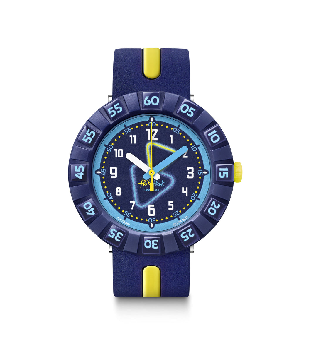 Swatch Flik Flak Yellow Tube	FCSP091