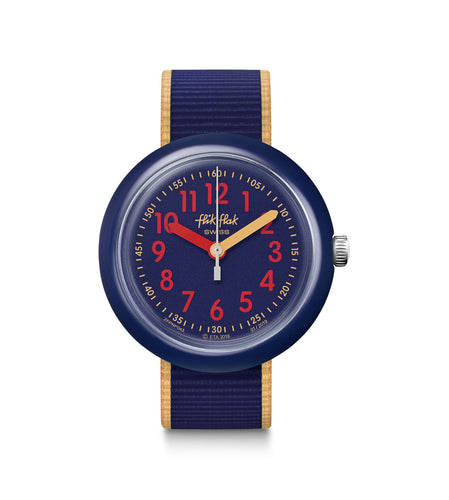 Swatch Flik Flak Color Blast Blue FPNP043