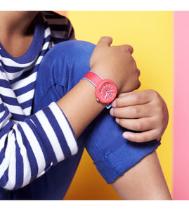 Swatch Flik Flak Color Blast Red FPNP045