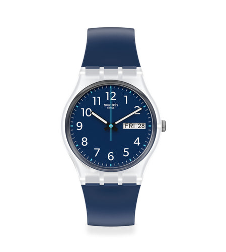 Swatch Rinse Repeat Navy GE725