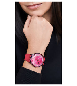Swatch Ruby Rings SUOP111