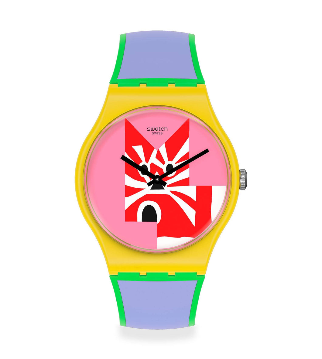Swatch Indirect Exchange SUOZ323