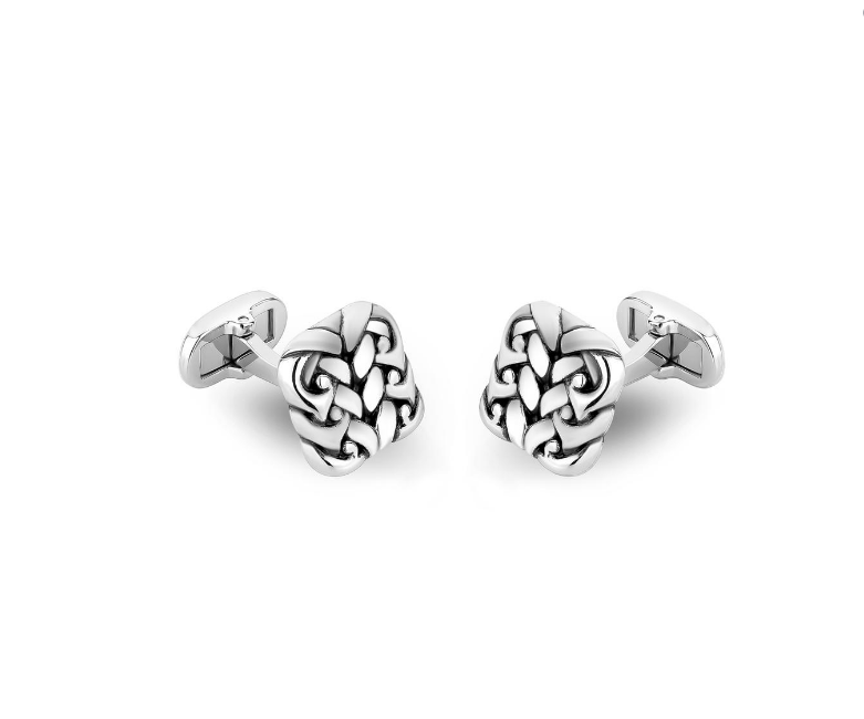 ARZ Steel Detailed Cufflinks AS-C56