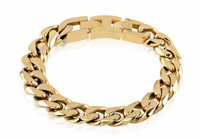 Cuban Link Bracelet - 14mm