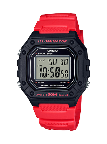 Casio W218H-4BV Sports Watch