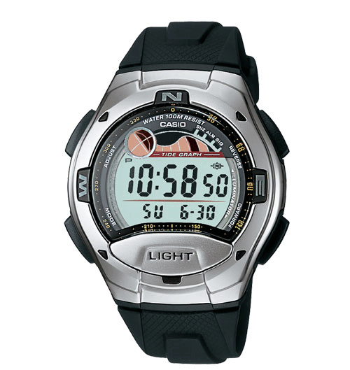 Casio W753-1AV Classic Watch