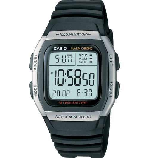 Casio W96H-1AV Classic Watch