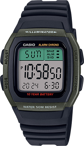 Casio W96H-3AV Classic Watch