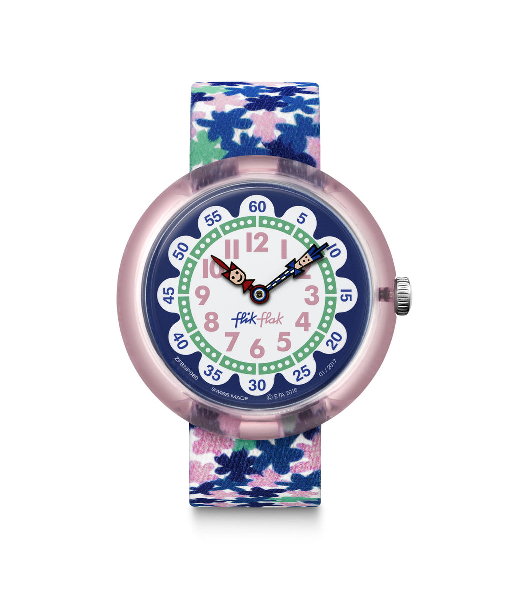 Swatch Flik Flak London Flower FBNP080