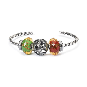 Trollbeads Twisted Silver Bangle TAGBA-00006