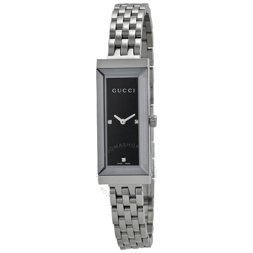 Gucci G-Frame Diamond Dial Ladies Watch YA127504