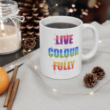 Load image into Gallery viewer, Live Colourfully 11oz Ritual Mug