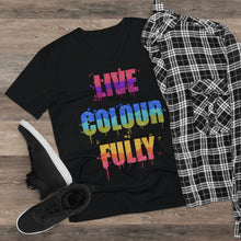Load image into Gallery viewer, Men's Live Colourfully Lightweight V-Neck Tee