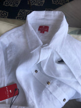 LONG SLEEVE WHITE LINEN SHIRT