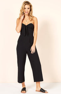 Bow Cropped Playsuit