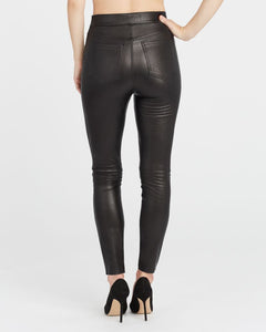 SPANX / Leather-Like Ankle Skinny