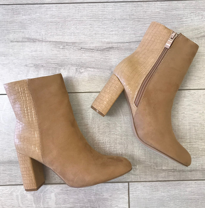 Chilton Tan Bootie