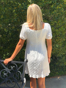 Forget Me Mini White Dress (FINAL SALE)