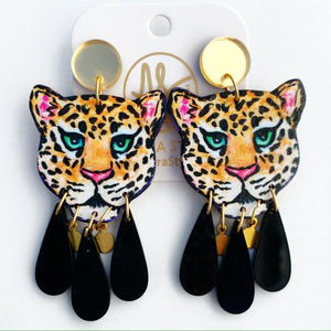 Audra Style / Leopard Dangles