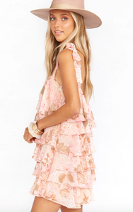Show Me Your MuMu/Rowen Ruffle Dress/Final Sale