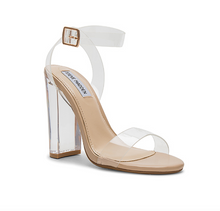 Steve Madden/Camille Clear Heel (FINAL SALE)