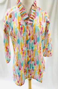 Haley & The Hound/Parker Abstract Tunic