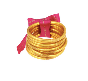 BuDhaGirl/Gold Bangles set of 9